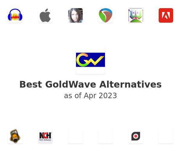 Best GoldWave Alternatives