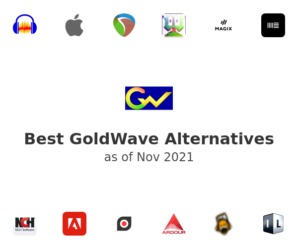 Best GoldWave Alternatives