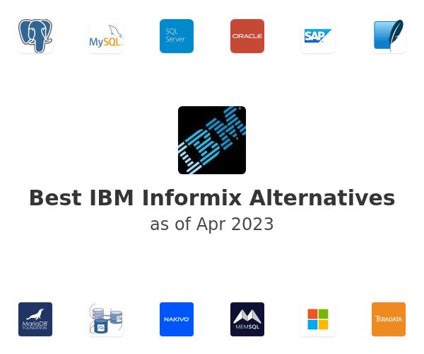 Best IBM Informix Alternatives