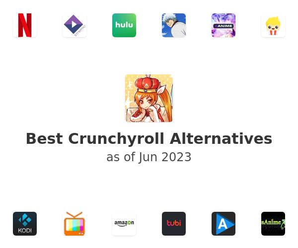 Best Crunchyroll Alternatives
