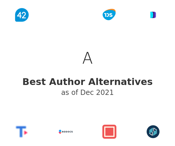 Best Author Alternatives