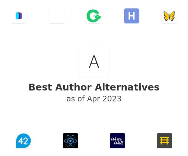 Best Author Alternatives