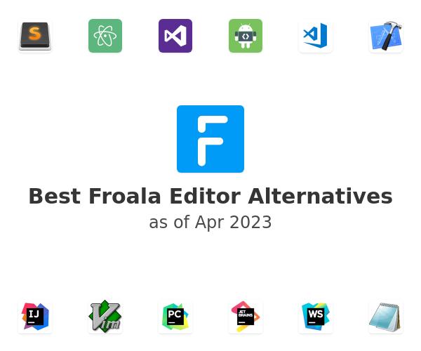 Best Froala Editor Alternatives