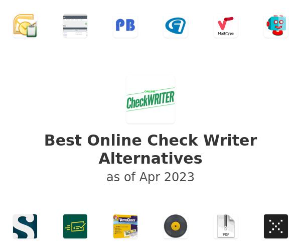 Best Online Check Writer Alternatives