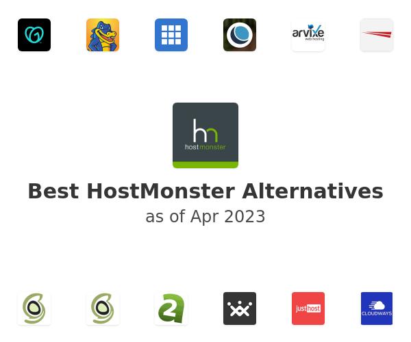 Best HostMonster Alternatives