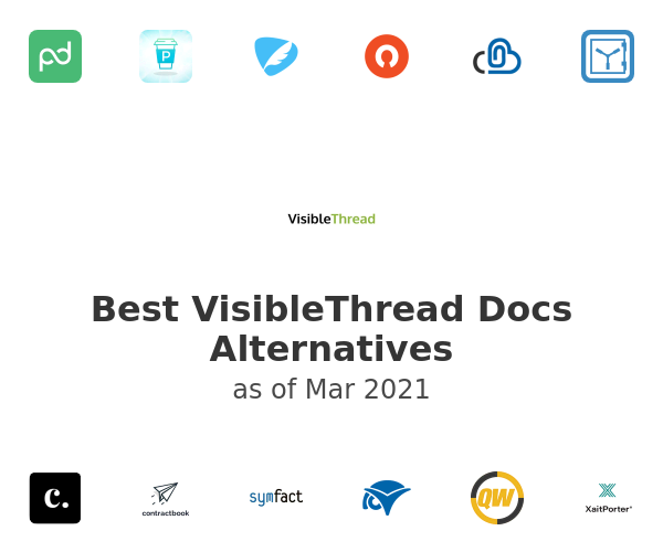 Best VisibleThread Docs Alternatives