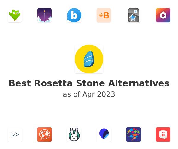Best Rosetta Stone Alternatives