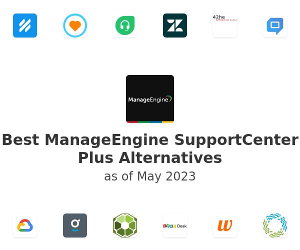 Best ManageEngine SupportCenter Plus Alternatives