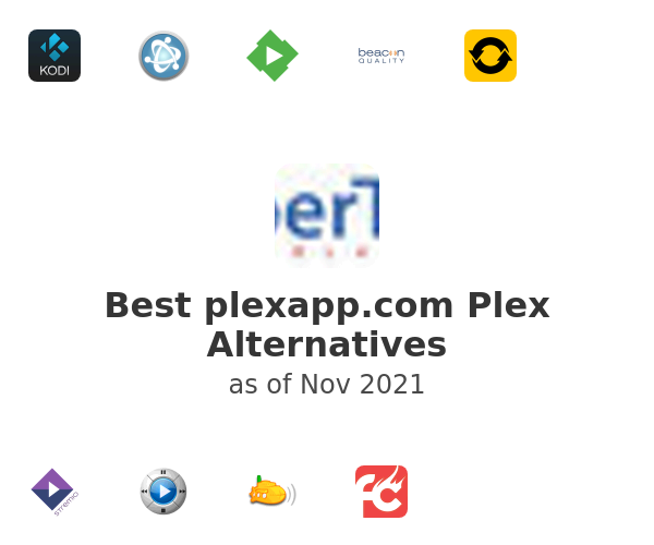 Best plexapp.com Plex Alternatives