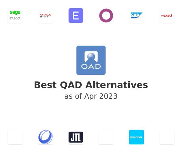 Best QAD Alternatives