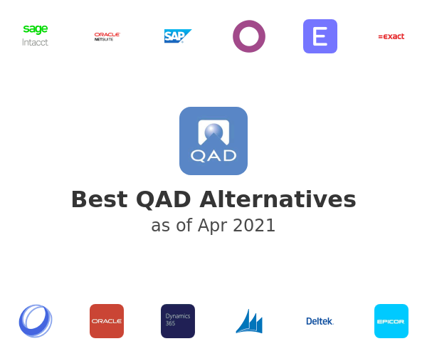 Best QAD Alternatives