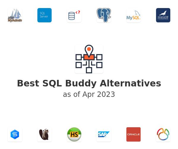 Best SQL Buddy Alternatives