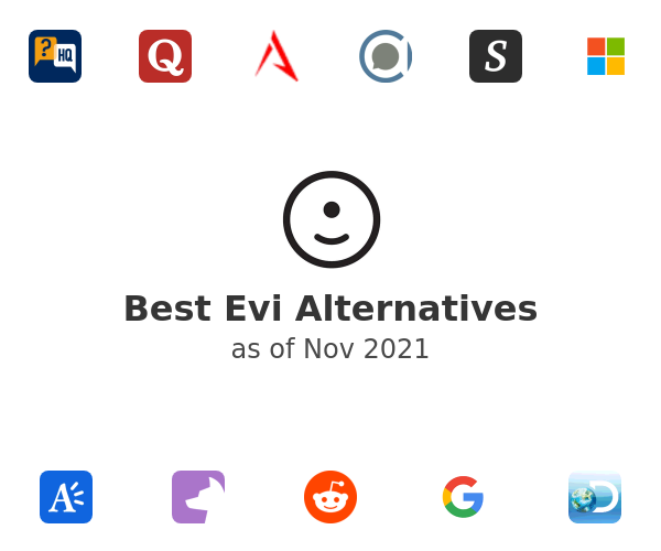 Best Evi Alternatives
