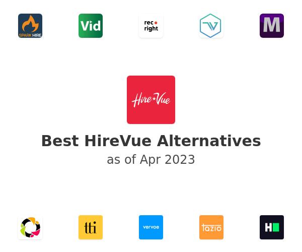 Best HireVue Alternatives