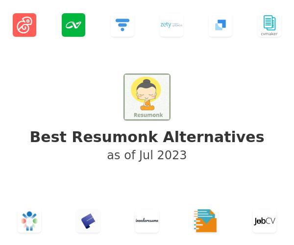 Best Resumonk Alternatives