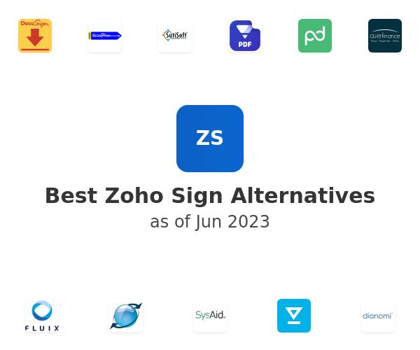 Best Zoho Sign Alternatives