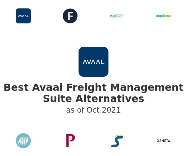 Best Avaal Freight Management Suite Alternatives