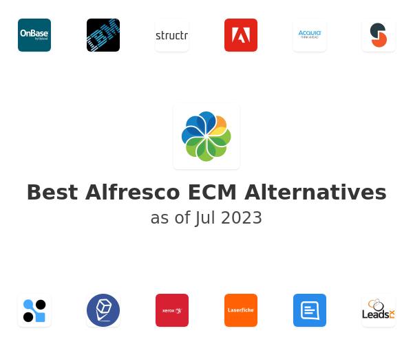 Best Alfresco ECM Alternatives