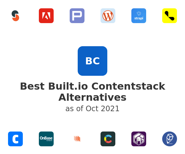 Best Built.io Contentstack Alternatives
