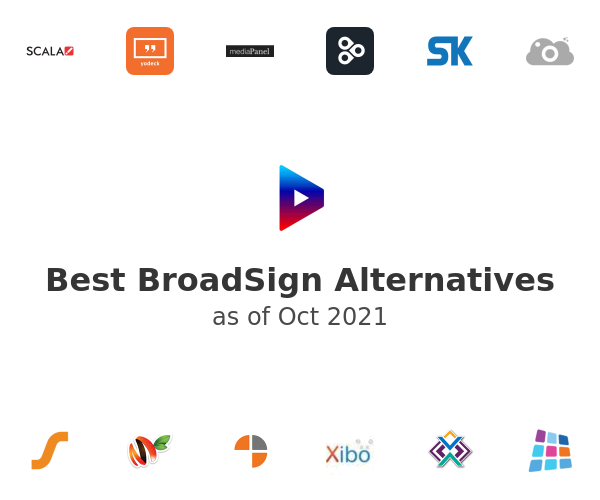 Best BroadSign Alternatives