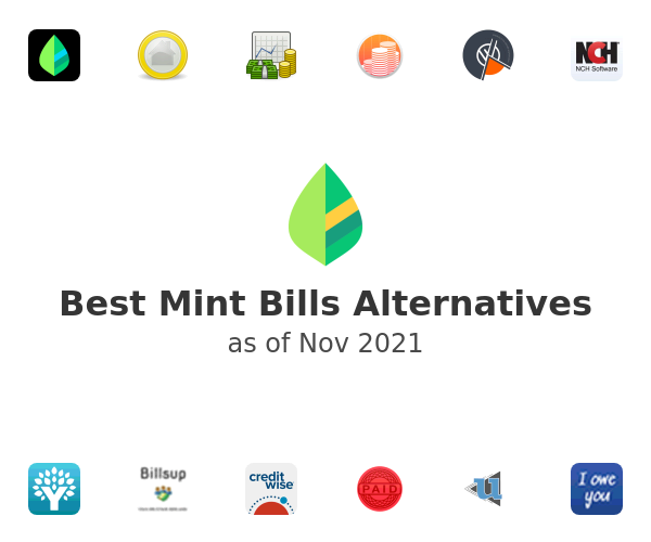 Best Mint Bills Alternatives