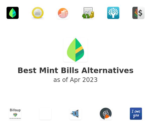 Best Mint Bills Alternatives