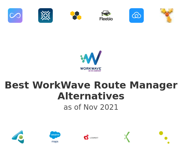 Best WorkWave Route Manager Alternatives