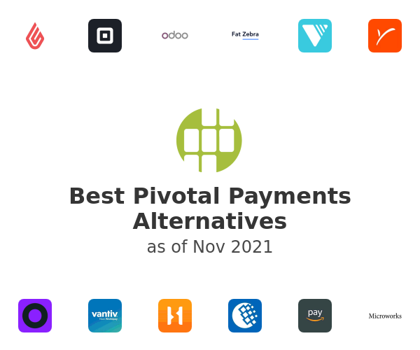 Best Pivotal Payments Alternatives