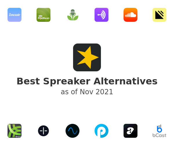 Best Spreaker Alternatives