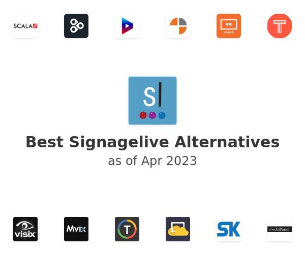 Best Signagelive Alternatives