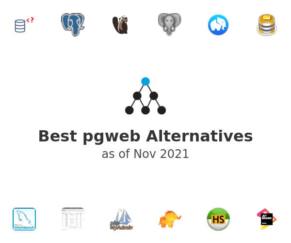 Best pgweb Alternatives