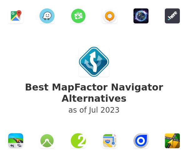 Best MapFactor Navigator Alternatives
