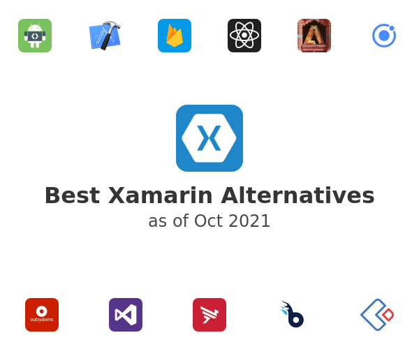 Best Xamarin Alternatives