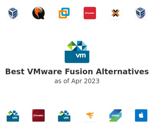 Best VMware Fusion Alternatives