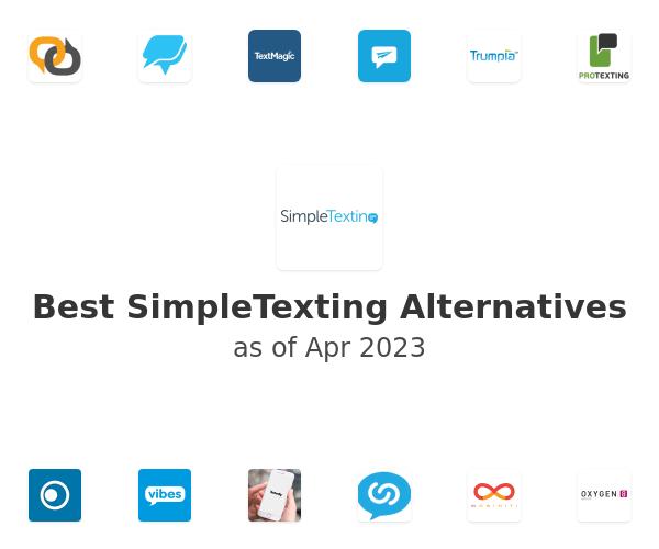 Best SimpleTexting Alternatives