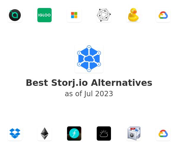 Best Storj.io Alternatives