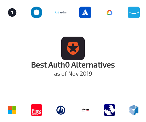 Best Auth0 Alternatives