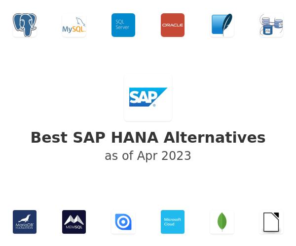 Best SAP HANA Alternatives