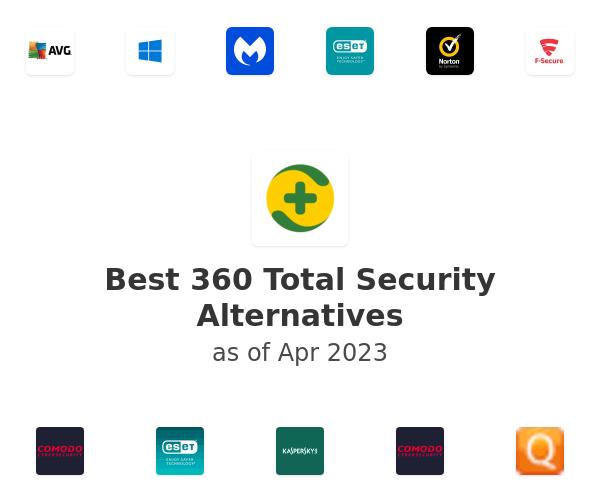 Best 360 Total Security Alternatives