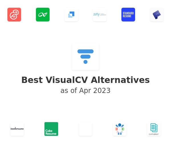 Best VisualCV Alternatives