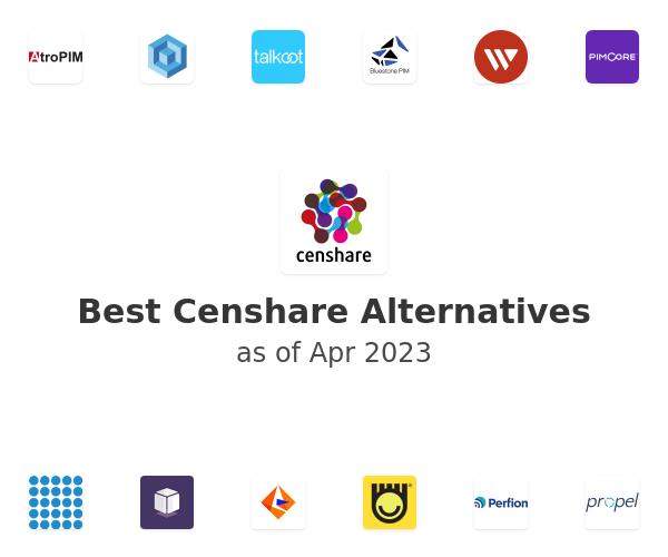 Best Censhare Alternatives