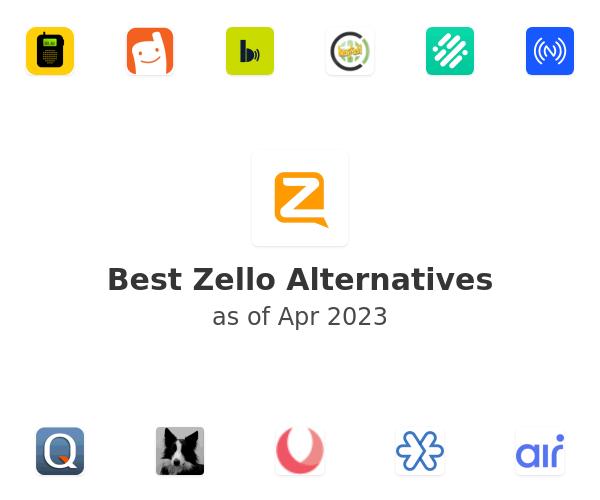 Best Zello Alternatives