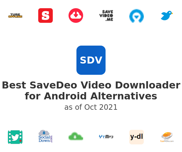 Best SaveDeo Video Downloader for Android Alternatives