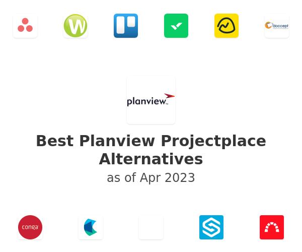 Best Planview Projectplace Alternatives