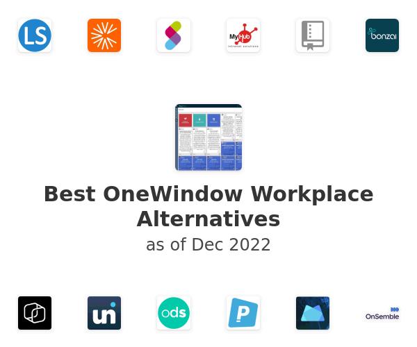 Best OneWindow Workplace Alternatives