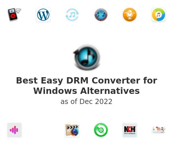 Best Easy DRM Converter for Windows Alternatives