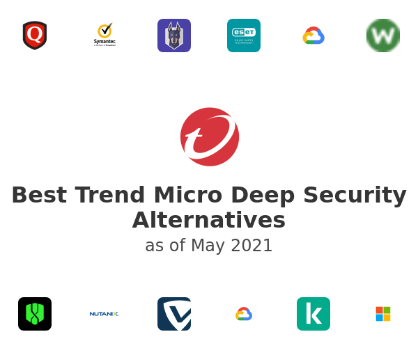 Best Trend Micro Deep Security Alternatives