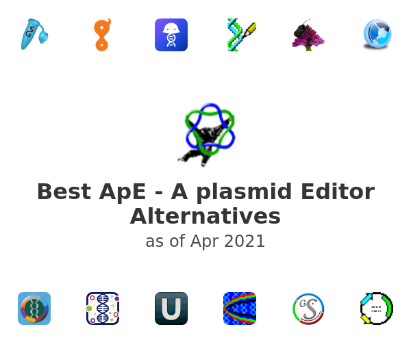 Best ApE - A plasmid Editor Alternatives