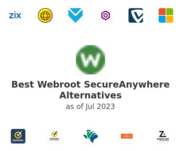 Best Webroot SecureAnywhere Alternatives