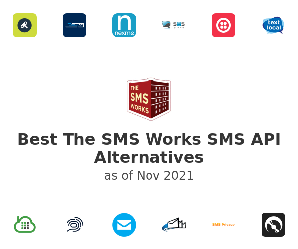 Best The SMS Works SMS API Alternatives